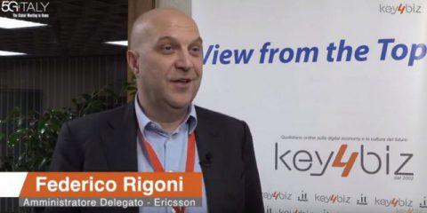 5G Italy. Intervista a Federico Rigoni (Ericsson)