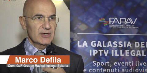 IPTV illegali e pirateria audiovisiva. Intervista a Marco Defila (GdF)