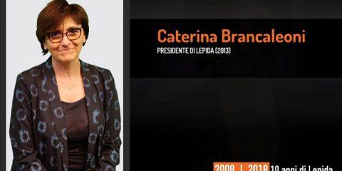 10 anni di Lepida, la testimonianza video di Caterina Brancaleoni
