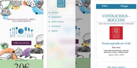 App4Italy. La recensione del giorno, Sit and Eat