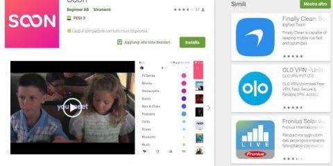 App4Italy. La recensione del giorno, Soon