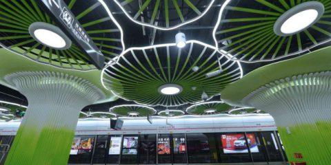 In Cina la prima stazione della metropolitana connessa in 5G