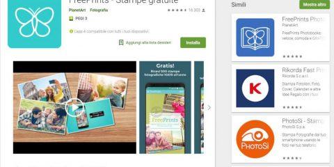 App4Italy. La recensione del giorno, FreePrints