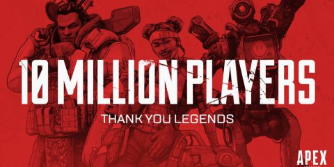 Apex Legends a quota 10 milioni di giocatori in 72 ore