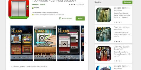 App4Italy. La recensione del giorno, 100 Floors – Can you escape?