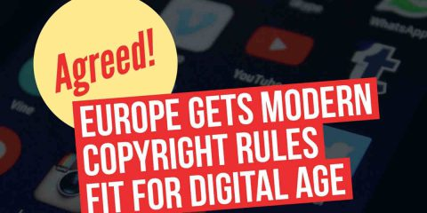 Copyright, accordo raggiunto nell'Ue. Manca l'ultimo miglio prima delle elezioni