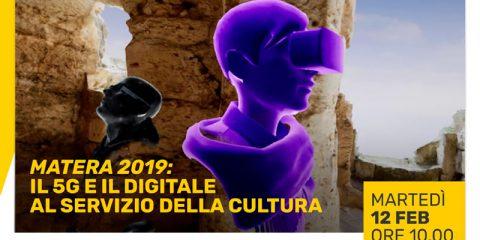 """Diretta Streaming del Convegno """"Matera 2019: il 5G e il digitale al servizio della cultura"""""""