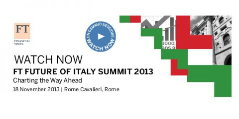 FT Future of Italy Summit: all the video contributions in our special