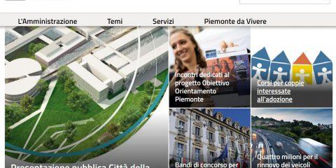 E' online il nuovo portale della Regione Piemonte