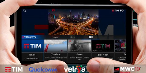 5G, Vetrya presenta al MWC il primo servizio al mondo di 'streaming multi view'