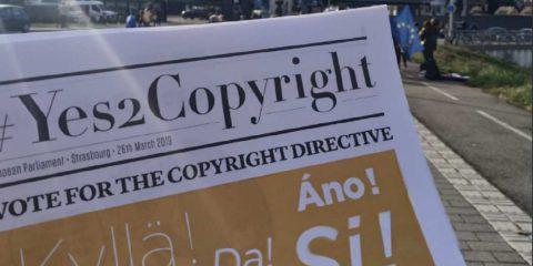 Copyright, via libera dal Parlamento europeo: la riforma è passata
