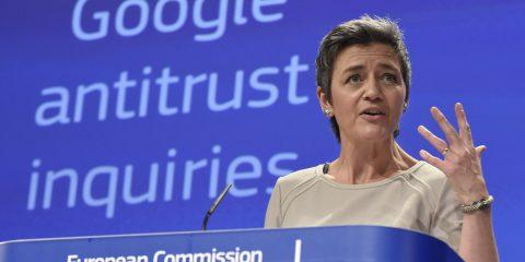 Vestager: 'Smantellare gli OTT? No, meglio regolare l'accesso ai dati'