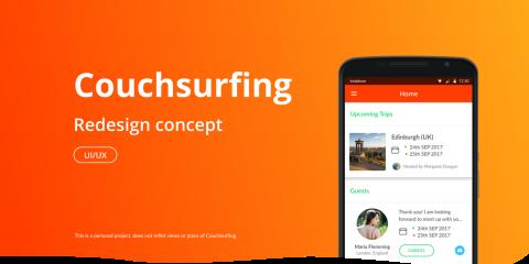 App4Italy. La recensione del giorno, Couchsurfing Travel App