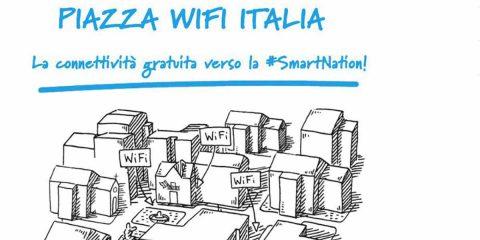 """""""Piazza WiFi Italia"""", ad oggi hanno aderito 2.035 Comuni"""