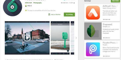 App4Italy. La recensione del giorno, TouchRetouch
