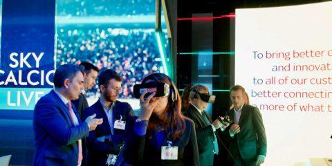 L'Intergruppo parlamentare Innovazione in visita da Sky Italia
