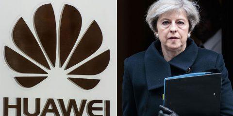 5G, Theresa May dà il via libera a Huawei. Ma solo per le antenne e le parti 'non core'