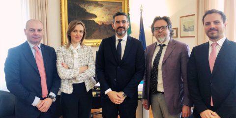 Aidr, incontro con il Ministro Fraccaro