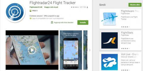 App4Italy. La recensione del giorno, Flightradar24