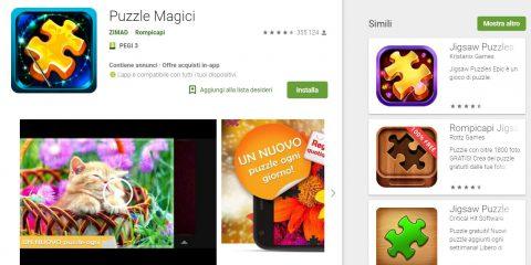 App4Italy. La recensione del giorno, Magic jigsaw puzzles