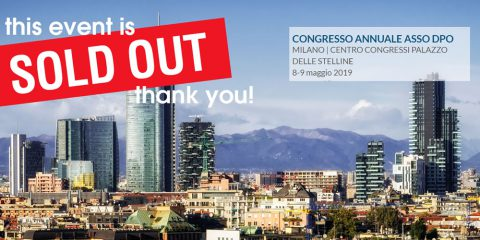 Agenda del 5° Congresso Internazionale ASSO DPO | Milano, 8 e 9 Maggio 2019