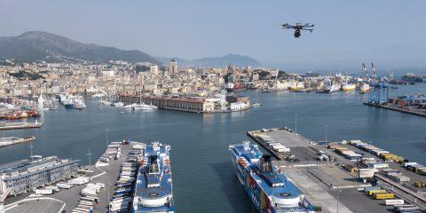 5G, al via a Genova il monitoraggio del territorio con i droni