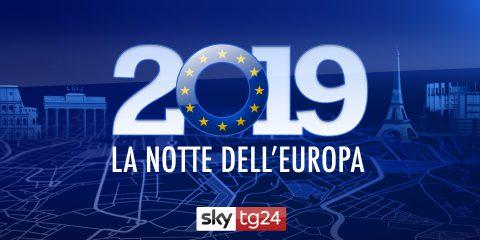 """Sky TG24: sei milioni di contatti unici per la maratona elettorale """"La Notte dell'Europa"""""""
