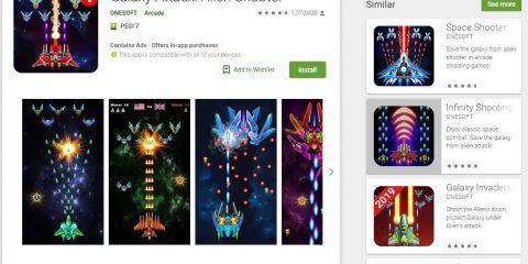 App4Italy. La recensione del giorno, Galaxy Attack: Alien Shooter