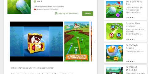 App4Italy. La recensione del giorno, Golf Battle