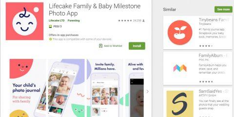 App4Italy. La recensione del giorno, Lifecake Family & Baby Photos