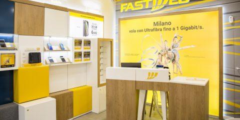 Fastweb, restyling degli store e 25 nuovi punti vendita