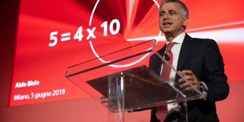 Aldo Bisio (Vodafone Italia) 'Ok rete unica ma senza controllo Tim'