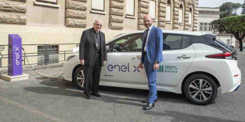 La Città del Vaticano passa all'eMobility, attivate le prime stazioni di ricarica