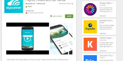 App4Italy. La recensione del giorno, Skyscanner – Travel Deals