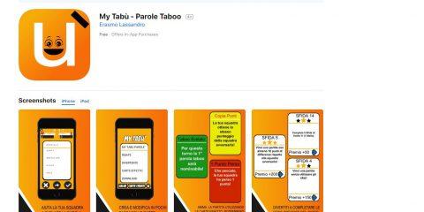 App4Italy. La recensione del giorno, MyTabù