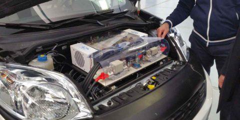 """Mobilità a zero emissioni: dalla Campania la nuova auto a idrogeno """"fuel cell"""""""