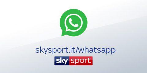 Le news di Sky Sport anche su WhatsApp (Come si configura il servizio gratuito)
