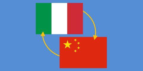 I rapporti tra Italia e Cina, un interscambio che supera i 43 miliardi di euro