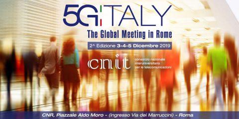 '5G Italy', parte il countdown della 2^ edizione. Roma, 3-4-5 dicembre 2019