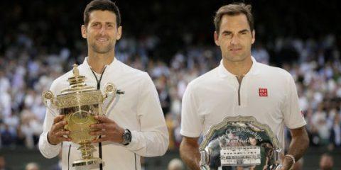 Sky Sport, ascolti al top per la finale di Wimbledon Federer-Djokovic e la Formula1