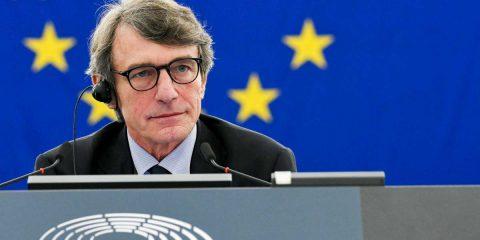 """Green Deal, David Sassoli (Europarlamento): """"L'Ue dice addio al carbone, per l'Italia 4 miliardi all'ex Ilva"""""""