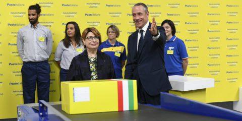 Poste italiane inaugura l'hub eCommerce più grande d'Italia alla presenza di Mattarella (Video)