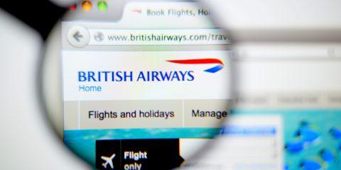 British Airways, Garante Privacy Uk pronto a multarla con 204 milioni per violazione GDPR