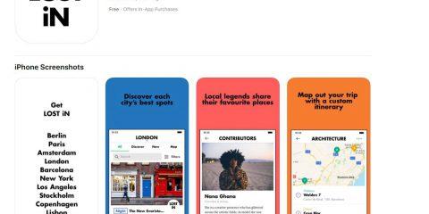 App4Italy. La recensione del giorno, LOST iN City Guide