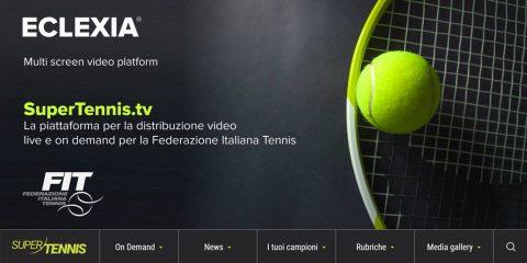 Vetrya rilascia per SuperTennis.tv il nuovo servizio di video streaming