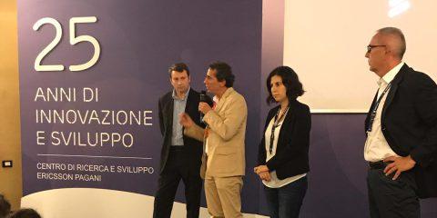 5G, delegazione di parlamentari al centro di ricerca e sviluppo di Ericsson a Pagani (Salerno)
