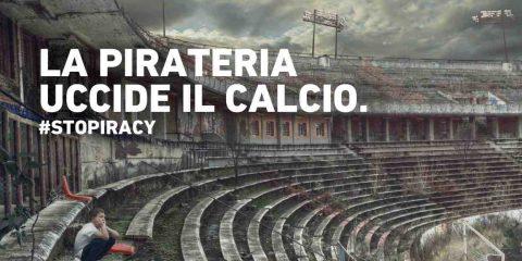 Pirateria sportiva, la Lega Serie A punta i piedi: mancato fatturato per un miliardo di euro