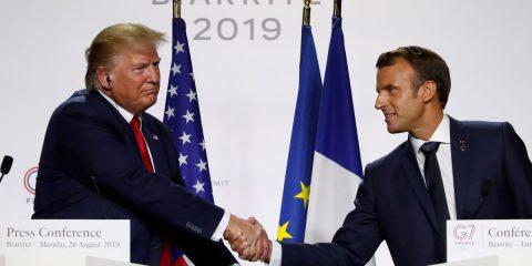 Web Tax, Francia e Usa fanno pace. Macron: 'Via la tassa non appena l'OCSE troverà intesa'
