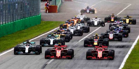 A Sky media la raccolta pubblicitaria del Gran premio d'Italia di Formula 1