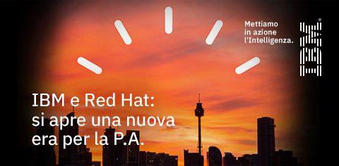IBM e Red Hat: come accelerare la trasformazione digitale della P.A
